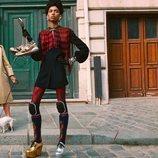 Blusa estampada de la colección prêt á porter otoño/invierno 2019 de Gucci