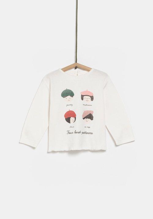 Jersey blanco para niño de la colección de Rocío Osorno y TEX de otoño/invierno 2019