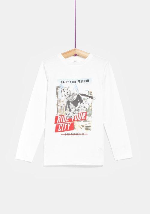Camiseta niño 'Ride your city' de la colección 'I-O' de Carrefour y TEX para otoño/invierno 2019
