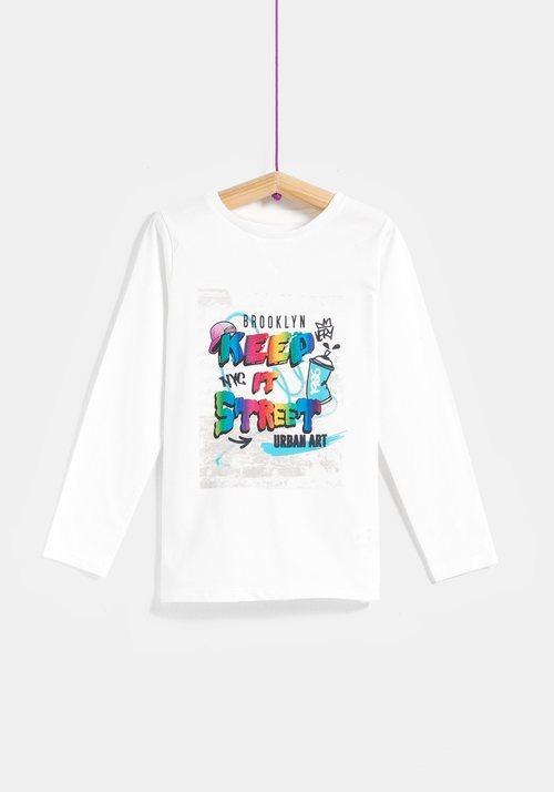 Camiseta niño 'Keep It Street' de la colección 'I-O' de Carrefour y TEX para otoño/invierno 2019
