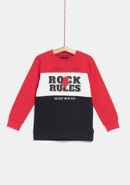 Camiseta 'Rock' para niña de la colección 'I-O' de Carrefour y TEX para otoño/invierno 2019