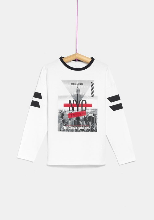 Camiseta 'NYC' de la colección 'I-O' de Carrefour y TEX para otoño/invierno 2019