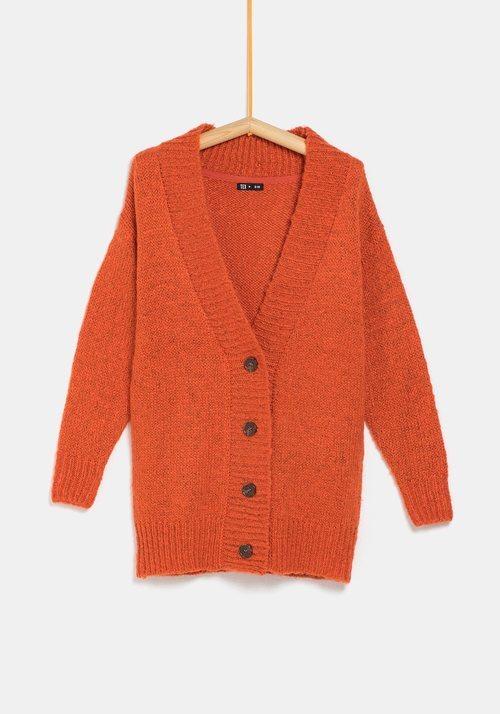 Rebeca naranja de la colección 'I-O' de Carrefour y TEX para otoño/invierno 2019
