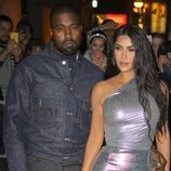 Kim Kardashian y Kanye West en la gala 'Night of Stars' en Nueva York
