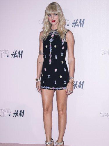 Chiara Ferragni en la fiesta de presentación de la colección 'Giambattista Valli x H&M'