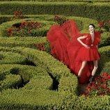 Vestido rojo de la colección 'Giambattista Valli x H&M'