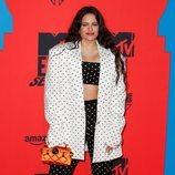 Rosalía con total look Balmain durante los Premios MTV EMAs 2019