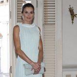 La Reina Letizia con vestido de Nina Ricci en su Viaje Oficial en La Habana
