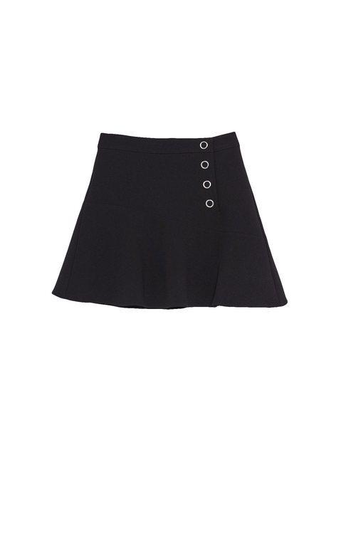 Falda negra de la colección Sfera otoño/invierno 2019-2020 Especial Navidad