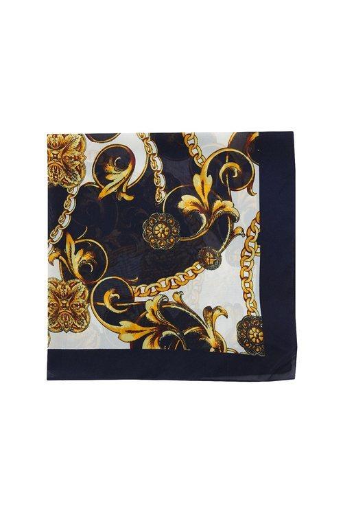 Pañuelo estampado de la colección Sfera otoño/invierno 2019-2020 Especial Navidad