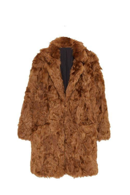 Abrigo de pelo de la colección Sfera otoño/invierno 2019-2020 Especial Navidad