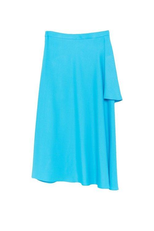 Falda celeste de la colección Sfera otoño/invierno 2019-2020 Especial Navidad