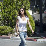 Sara Carbonero con jeans baggies