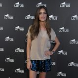 Sara Carbonero con falda pantalón glitter