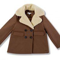 Abrigo marrón de la colección Chloé para niñas otoño/invierno 2011