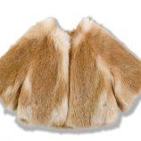 Capa de pelo de la colección Chloé para niñas otoño/invierno 2011