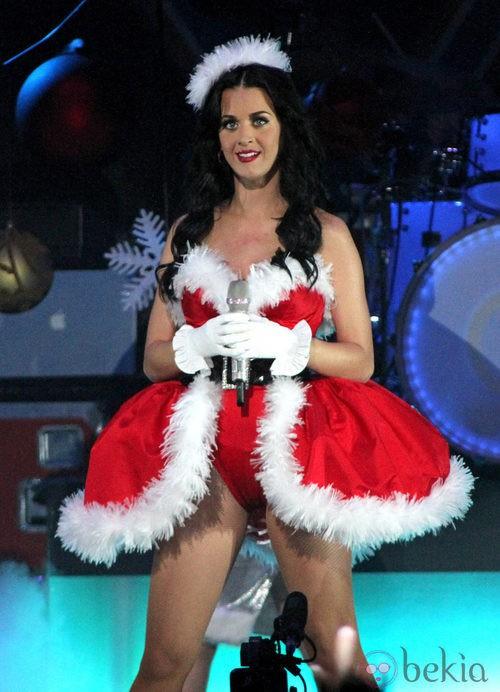 Katy Perry, una mamá noel muy sexy