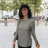 Katy Perry con un look 'Working girl'