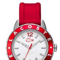 Reloj Lacoste modelo Rio en color rojo