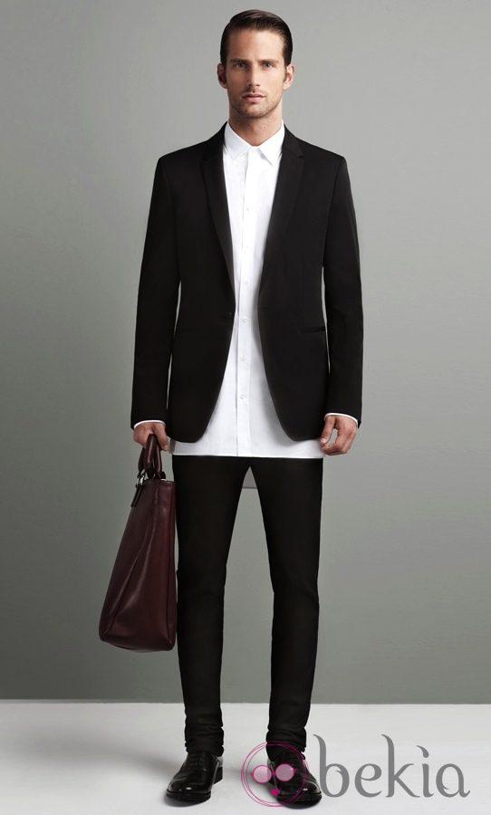 Modelo de bolso masculino de Zara