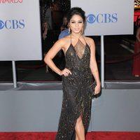 El look firmado por Jenny Packham de Vanessa Hudgens en los People's Choice Awards 2012