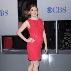 Alyson Hannigan con un look en rojo People's Choice Awards 2012