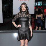 El look en cuero de Ashley Greene en los People's Choice Awards 2012