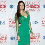 El look en verde de Nina Dobrev en los People's Choice Awards 2012