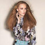 Frida Gustavsson posa con la colección primavera 2012 de Sportmax