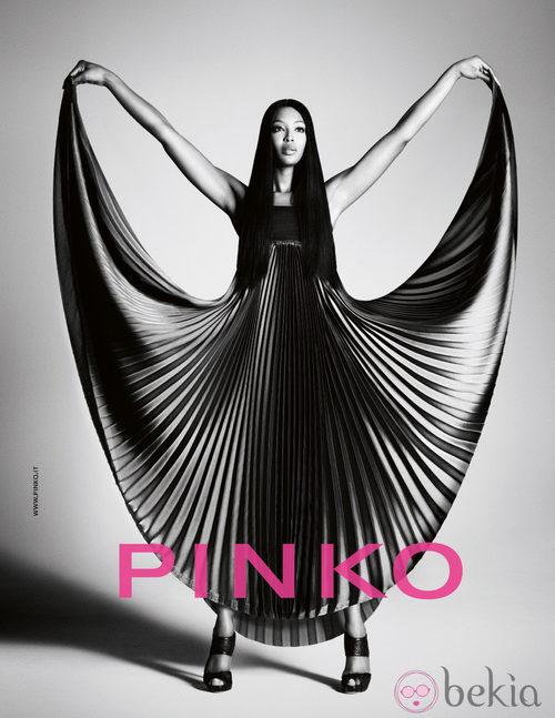 Naomi Campbell, imagen de Pinko para la primavera/verano 2012