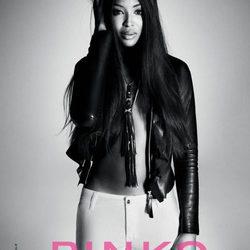 Naomi Campbell, imagen de la colección primavera/verano 2012 de Pinko