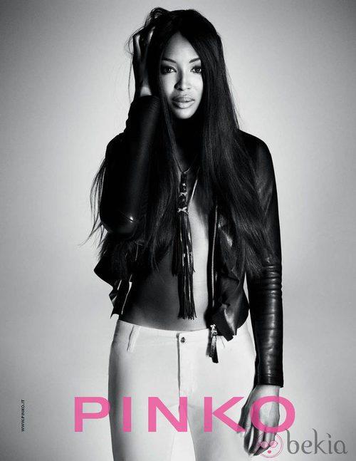 Naomi Campbell es la imagen de la colección primavera/verano 2012 de Pinko