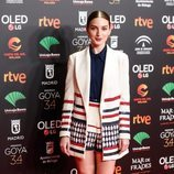 María Valverde con un dos piezas blanco en la fiesta de los nominados a los Premios Goya 2020