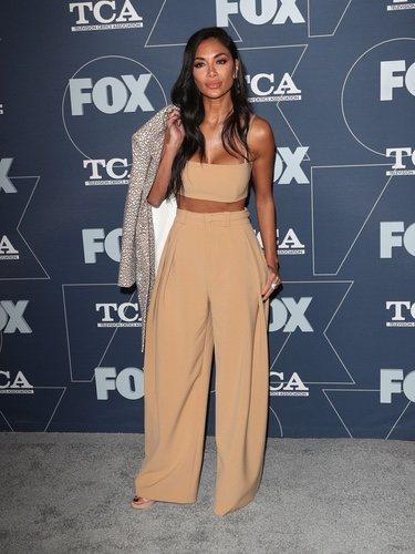 Nicole Scherzinger con look total nude en la Fox Gala 2020