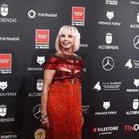 Victoria Abril, muy esperpéntica en los Premios Feroz 2020