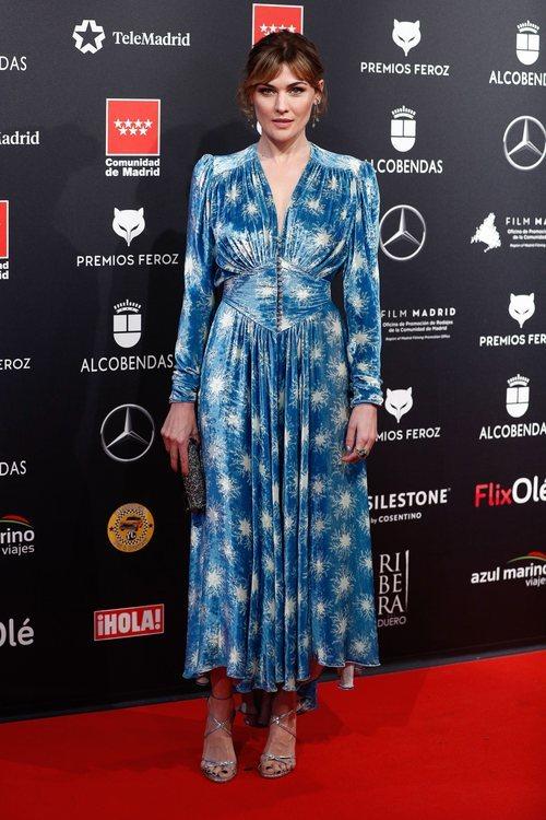 Marta Nieto, muy aterciopelada en los Premios Feroz 2020