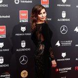 Mónica Cruz, con un vestido con la espada bordada en los Premios Feroz 2020