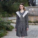Vestido midi de tweed de la colección primavera/ verano 2020 de Alta Costura de Chanel
