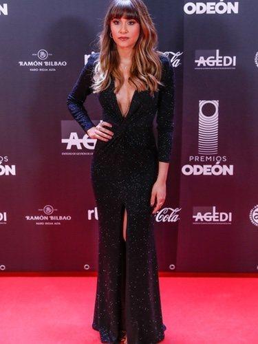 Aitana Ocaña con un vestido Tarik Ediz en la gala de los Premios Odeón 2020