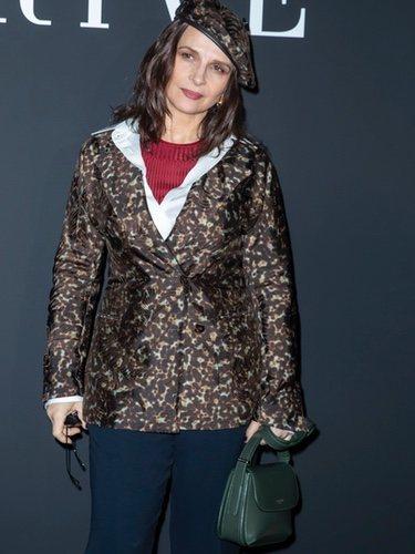 Juliette Binoche con un look que no tiene sintonía