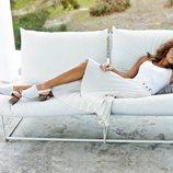 Lara Álvarez nueva imagen de la firma Carmela para la colección primavera-verano 2020
