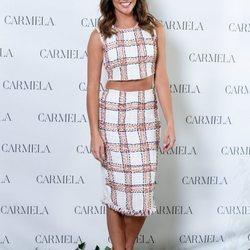 Lara Álvarez presenta la colección primavera/verano 2020 de calzado Carmela