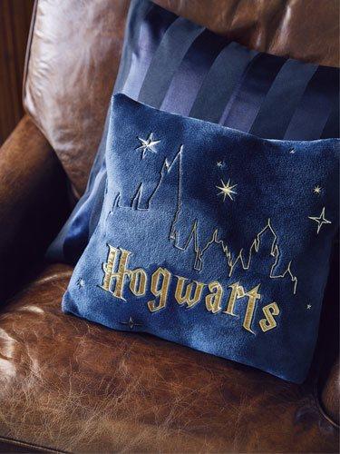 Cojín azul de Hogwarts de la colección Women'secret