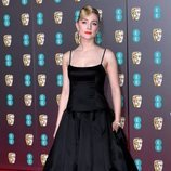 Saoirse Ronan, muy sobria en la alfombra roja de los Premios BAFTA 2020