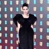Rooney Mara, con un vestido negro y pomposo en los BAFTA 2020