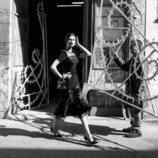 Vestido negro de la colección verano 2020 de Dolce&Gabbana