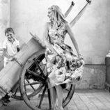 Vestido de flores de la colección verano 2020 de Dolce&Gabbana