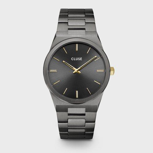 Reloj Vigoreux masculino negro de la colección primavera/verano 2020 de Cluse