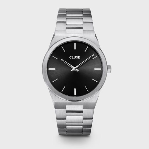 Reloj Vigoreux masculino plateado de la colección primavera/verano 2020 de Cluse