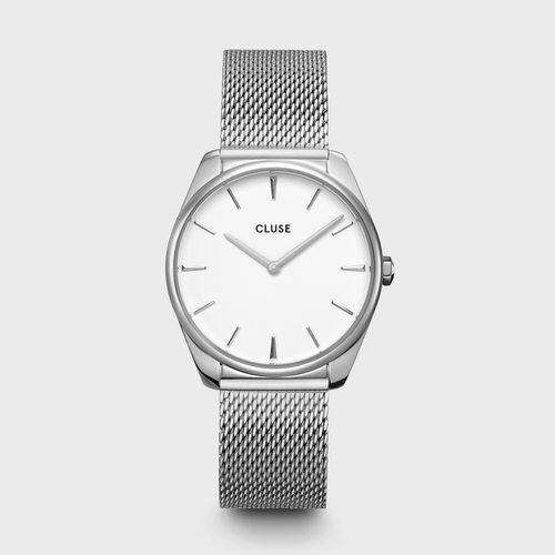 Reloj Feroce para mujer plateado colección primavera/verano 2020 de Cluse